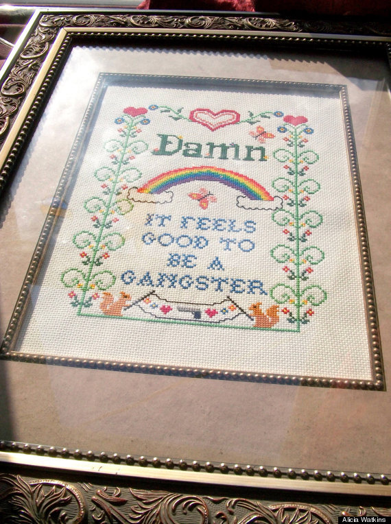 Courtesy of Alicia Watkins / Source : Watty's Wall Stuff And Cross Stitchery